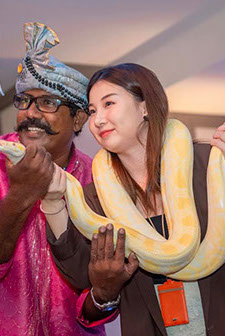 Snake Charming Singapore for Hire, Snake Charmer Singapore, Snakes Singapore,